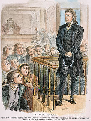 Rev. George Burroughs Print by Granger