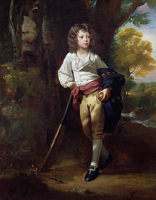 Cricket Painting - Richard Heber by John Singleton Copley
