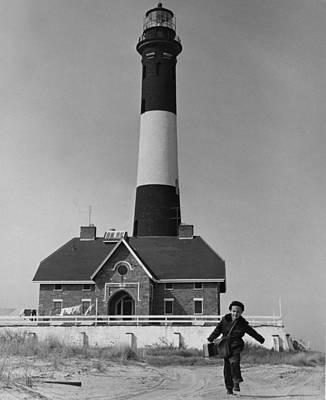 Richard Mahler, Is The Fire Island Print by Everett