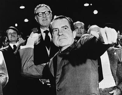 Richard Nixon (1913-1994) Print by Granger