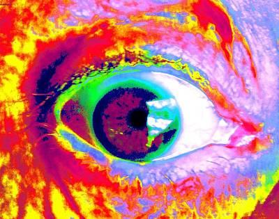 Rico's Eye Print by Renate Nadi Wesley