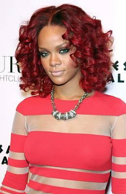 Rihanna In Attendance For Rihanna New Print by Everett