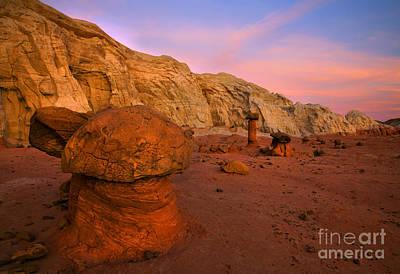 Rimrock Photograph - Rimrock Basin Dusk by Mike  Dawson