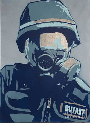 Riot Print by Tom Evans