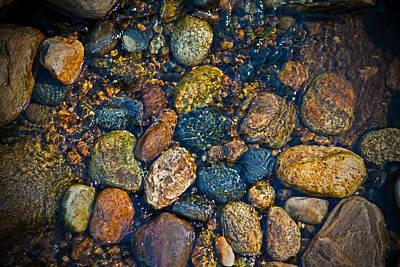 River Rock Print by Karol Livote
