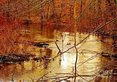 River Russel Print by Lisa  Ridgeway