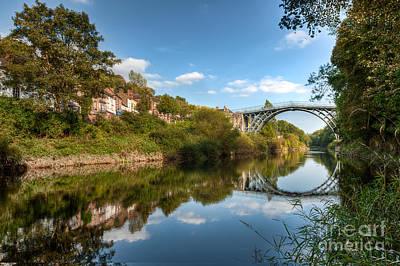 River Severn Print by Adrian Evans
