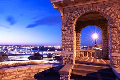 River View In Kansas City Original by Donna Caplinger