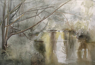 Racei Painting - Riversides Of Bittsa. Summer Time. 2007 by Yuri Yudaev