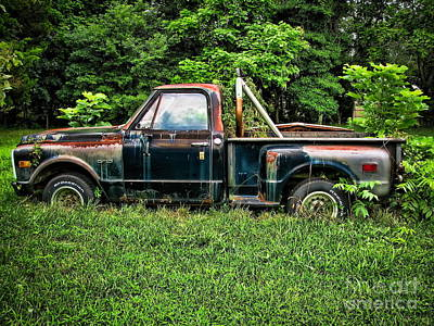 Old Trucks Photograph - Road Warrior by Colleen Kammerer