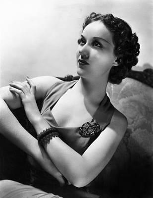 Roaming Lady, Fay Wray, 1936 Print by Everett