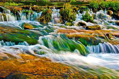 Roaring Rapids Print by Joshua Dwyer