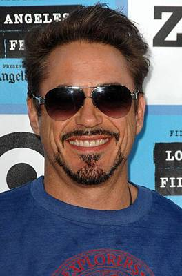 Robert Downey Jr. At Arrivals For 2009 Print by Everett