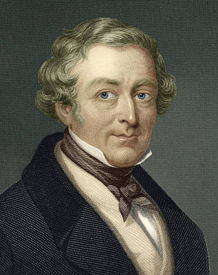 Robert Peel, British Prime Minister Print by Sheila Terry