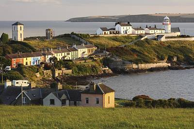 Roches Point Lighthouse In Cork Harbour Print by Trish Punch