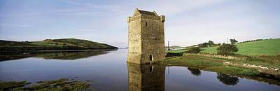 Western Ma Photograph - Rockfleet Castle, Clew Bay, Co Mayo by The Irish Image Collection