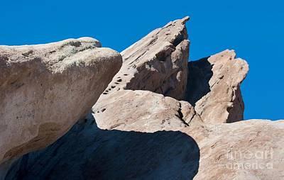 Rocks In Perspective Print by Dan Holm