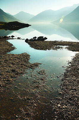 Rocks On The Beach Print by Svetlana Sewell