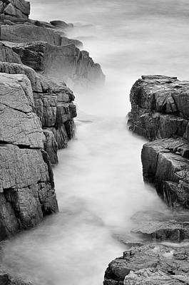 Acadian Photograph - Rocky Coast Of Acadia - No 2  by Thomas Schoeller