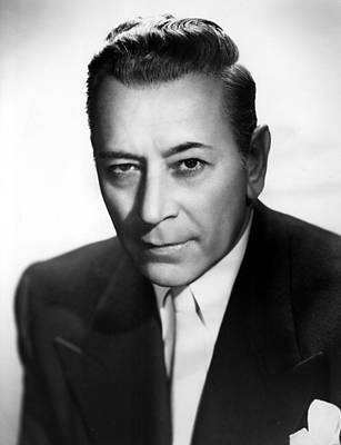 Rocky Jordan, George Raft, 1951 Print by Everett