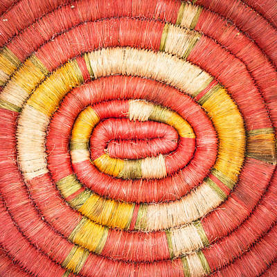 Handcrafted Photograph - Rolled Fabric by Tom Gowanlock