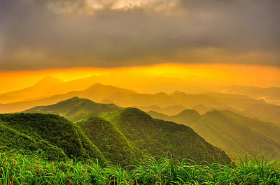 Y120817 Photograph - Rolling Hills by Taiwan Nans0410