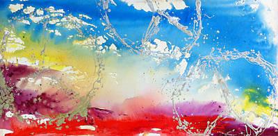 Blue Healer Painting - Rolling Peaceful Landscape by Madison Latimer