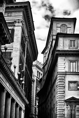 Rome Photograph - Roma Buildings by John Rizzuto