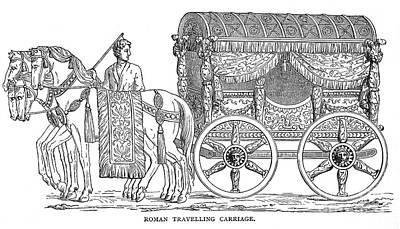Roman Carriage Print by Granger