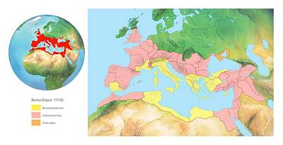 Roman Empire, Artwork Print by Gary Hincks