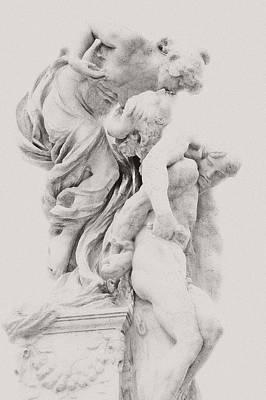 Roman Love Print by Dima Kirlov