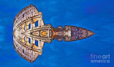 Romano Spaceship - Archifou 73 Print by Aimelle
