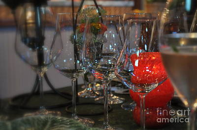 Food And Beverage Photograph - Romantic Dinner by Tanya  Searcy