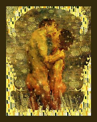 Romantic Dream Print by Kurt Van Wagner