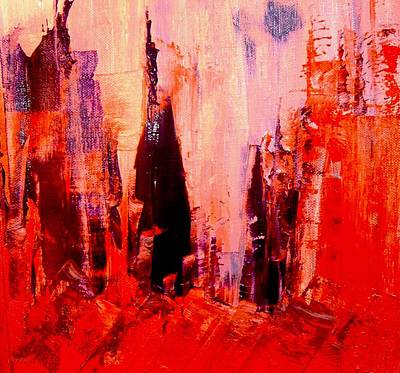 Abstractz Painting - Rome Is Burning by Piety Dsilva