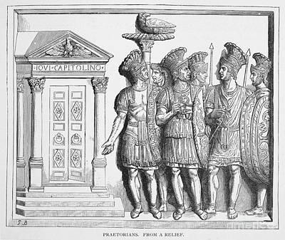 Rome: Praetorian Guards Print by Granger