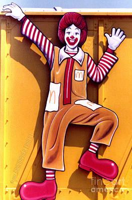 Ronald Mcdonald Painting - Ronald Mcdonald  by Cristophers Dream Artistry