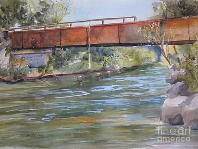 Rondo Landing Sturgeon River Print by Sandra Strohschein