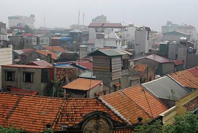 Hanoi Photograph - Rooftop View Of Hanoi City by Thepurpledoor