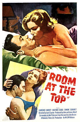 Room At The Top, Simone Signoret Print by Everett