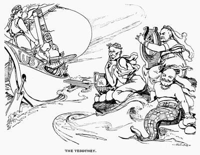 Roosevelt Cartoon, 1907 Print by Granger