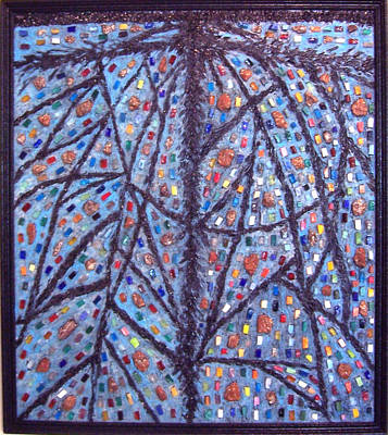 Roots Of Life Original by Anneliese Fritts