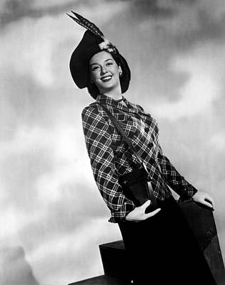 Rosalind Russell, Ca. Early 1940s Print by Everett