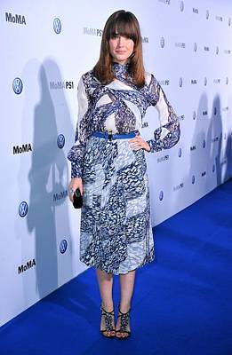 Belted Dress Photograph - Rose Byrne Wearing A Dress By Peter by Everett
