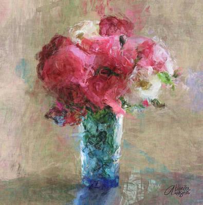 Roses Digital Art - Roses For Mom by Arline Wagner