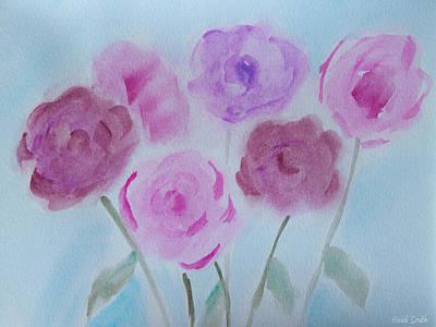Roses Print by Heidi Smith