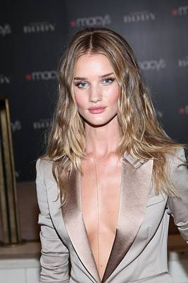 Rosie Huntington-whitely At In-store Print by Everett