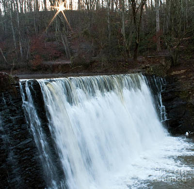 Roswell Falls Original by Michael Waters