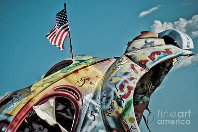 Photograph - Route 66 - Bug Ranch 01 by Jak of Arts Photography