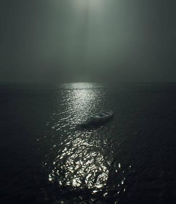 Row Boat Print by James Ingham
